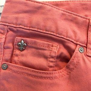 Coral Cache Skinny Jean Size 2